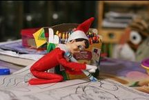 Elf on a Shelf / ideas for my daughter for her children.
