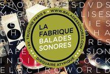 La Fabrique Balades Sonores par chicamancha / La galerie a ouvert  ses portes en janvier 2014!! avec des jolies choses,créations…platines,disques…expos!  1-3,avenue Trudaine 75009 Paris m°anvers