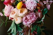 Wedding Florals / Gorgeous bouquets, flower crowns, table arrangements and floral art from ceremonies and receptions.