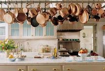 Copper in the Kitchen / This board is an ode to one of our favorite materials, copper.