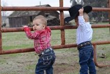 Wrangler In Training / Thank you to all of our fans who share photos of their little cowboys and cowgirls with us! Here's a few of our favorites. To see more, visit our Facebook page at www.Facebook.com/WranglerWestern.  / by Wrangler Western