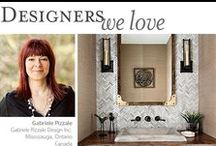 Designers We Love / Designers featured on our blog who have sourced Native Trails for  their clients' homes.