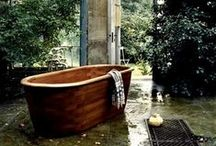 Bathtub Ideas / We like to see the bathtub as the centerpiece of every bathroom. This collection of pins pays proper tribute to the mighty bathtub.