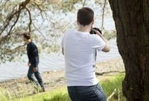 Behind The Scenes A/W '14 / Take a look behind the scenes  of our Autumn/Winter '14 Photoshoot.