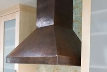 Native Trails | Range Hoods / Top artisans craft each of Native Trails' copper range hoods / by Native Trails: Home Products