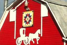 Barn Quilts / Love these that I see all over on barns, houses, parks, and more.  As a quilter it just reinforces my hobby! / by JoAnn G. Boon Morlan
