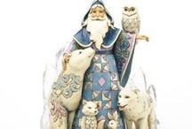 Jim Shore Creations / I love Jim Shore's quilted creations, especially his ornaments - santas and snowmen.