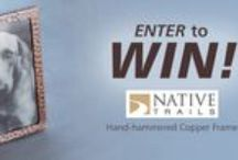 Contests & Giveaways / Native Trails hosts contests and giveaways several times a year; enter to win here! / by Native Trails