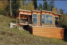 Wilderness Cabin Vision Board