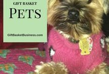Pets / Adopted children are the most-adorable gift basket receivers. What will you put into a basket for Fido, Fluffy, or another pet? Find inspiration here!