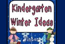 Kindergarten Winter Ideas / This board is for ideas that can be used in any kindergarten classroom during the winter months; I am looking for winter themes, such as penguins, polar bears, and snowmen, as well as things for holidays, such as MLK Day, Groundhog Day, and Valentines Day.