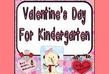 Valentine's Ideas for Kindergarten / **Follow this board for lots of Valentine's Day ideas for your kindergarten classroom**