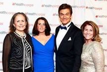 Dr. Oz / Co-founder of HealthCorps, surgeon, author and television personality Dr. Mehmet Oz is our greatest supporter and inspiration.