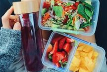Lunch Box / It's lunchtime! Check out all these healthy, simple, go-to lunches below and skip the pizza and fries!