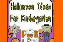 Halloween Ideas for Kindergarten / **Follow this board for lots of fun Halloween ideas for your kindergarten classroom**