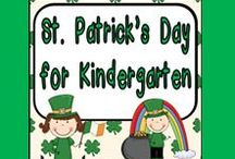 St. Patrick's Day for Kindergarten / **Follow this board for lots of fun St. Patrick's Day ideas for your kindergarten classroom**
