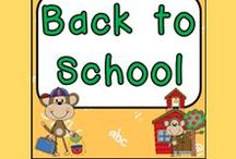 Back to School :) / Back to School Ideas for a Kindergarten Classroom!!