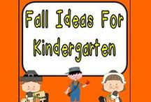 Fall Ideas for Kindergarten / **Follow this board for lots of fun fall ideas for kindergarten...apples, pumpkins, scarecrows, bats, spiders, and more!!