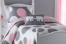 Pretty bedrooms ideas. Adult and child. / by Sue Burns