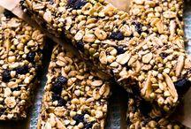 healthy snacks / Healthy snacks to keep your energy up. Vegetarian, Vegan, Gluten-free.