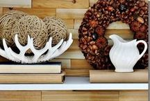 Inspired Decor / Seasonal interior decoration ideas & ideas for decorating different spaces in your home.