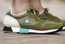 Sneakers: Le Coq Sportif / French sportswear brand founded by Emile Camuset in 1882 in Romilly-sur-Seine.