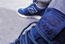 Sneakers: New Balance 1400 / The New Balance 1400 sneakers, originally launched in 1994, was for many years available only in Japan making the silhouette a cause célèbre among sneaker connoisseurs.  In recent years J.Crew of all people have led the charge to bring this shoe to Europe and the U.S. Each pair is crafted in the U.S. from premium American-made suede at New Balance's Skowhegan, Maine, factory.