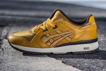 Sneakers: Asics GT-Cool / The Asics GT-Cool is a 1991 model that originally shared the split tongue concept still sported by the Gel-Lyte III. The GT-Cool combines lighter mesh materials for a lightweight package with the classic split-tongue construction.