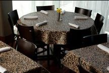 Custom Vinyl Tablecloths / This is a gallery of some of the vinyl tablecloths we offer.