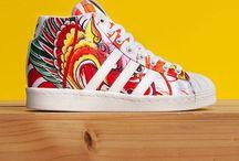 Sneakers: adidas x Rita Ora / In January 2014 British Singer/Song writer Rita Ora joined the adidas Roster of collaborators alongside Pharrell, Nigo and Kayne. The adidas x Rita Ora collection is built around a womenswear line.