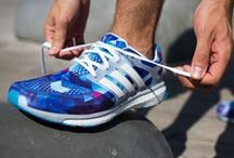 Sneakers: adidas Energy Boost / The adidas Energy Boost is designed to absorb the energy of your steps and return it into the next stride. It features a boost™ foam midsole providing a light run and the TORSION® SYSTEM for plenty of arch support, and a grippy all-terrain outsole.
