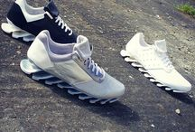Sneakers: adidas x Rick Owens / A collaborative range between adidas and avant garde American designer Rick Owens.