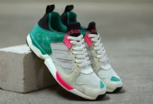 Sneakers: adidas ZX 5000 / First released in 1989, the ZX5000 featured superior cushioning for middle to long distance runners and represented another step towards running shoe perfection as well as another fantastic addition to the legendary ZX training shoe series.