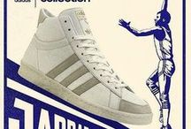 Sneakers: adidas Jabbar / Originally released in the 1970s, the Adidas Jabbar Low is the signature sneaker of NBA's all-time leading scorer, Kareem Abdul-Jabbar, winner of 6 Titles with the Los Angeles Lakers.