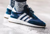 Sneakers: adidas Iniki / A sleeper hit that launched in late 2016, the Iniki may reside in the shadows of the EQT and Boost ranges, however the combination of retro styling and boost sole is destined to be a future classic.