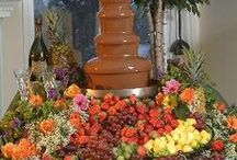 Hooray for chocolate fountains / by Sharon Fish