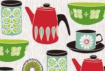 Retro / (items, patterns, and adverts that bring back a simpler, idealistic time...  and that I love!) / by Audra Hedger