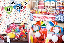 Circus / Carnival Party Ideas