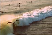 La playa / Mi lugar preferido está aqui, en la playa. / by Marisol Ortiz