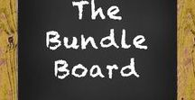 The Bundle Board / This is a board for sharing Teaching Ideas and TpT products.  The Rules are Simple:  Add pins that relate to the boards theme/title. Please do not pin the same pin on the same day.  I love long pins! Short pins!  I think it adds character to the board! You don't have to pin an idea with a product, but if you have pins that are pictures of ideas they are very, very loved!! No blurry pins or cut off pins.  Advertisements for sales, blog hops, etc... are not welcome. Thank you and enjoy the board!