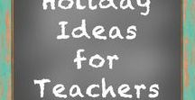 Holiday Ideas for Teachers / This is a board for sharing Teaching Ideas and TpT products.  The Rules are Simple:  Add pins that relate to the boards theme/title. Please do not pin the same pin on the same day.  I love long pins! Short pins!  I think it adds character to the board! You don't have to pin an idea with a product, but if you have pins that are pictures of ideas they are very, very loved!! No blurry pins or cut off pins.  Advertisements for sales, blog hops, etc... are not welcome. Thank you and enjoy the board!