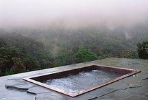 Hot tubs and Outside Baths