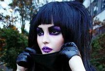 Makeup /  Mostly eye shadow inspirations and tutorials, fantasy and editorial makeup, contouring, #roseshock, #hardcandy#sugarpill, #benefit, #sephora, #ulta / by Erin Trainor