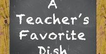 A Teacher's Favorite Dish! / This board is not for products. It is for sharing recipe and food ideas for teachers. It is a fun board! Please do not pin products or ideas. Please be aware that failure to follow the rules could possibly result in being deactivated from the board. Thank you and enjoy the board!