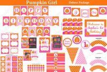 Pumpkin first birthday Ideas