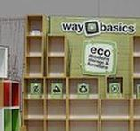 Trade Show Display Ideas / Trade shows can be an investment and setting up your booth can be expensive and just plain hassle. Consider Way Basics simple storage shelving to get set up quickly while saving the planet www.waybasics.com