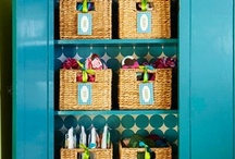 Creatively Organized / Creative ways to organize your home / by Peg Anderson