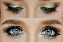 make up ideas for these blue-green eyes of mine... / by Melinda Shepherd