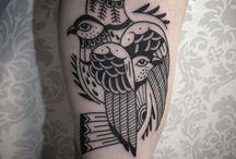 [tattoo] black one / Tattooo