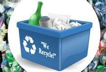 Recycling / Learn about recycling and how to upcycle furniture and other products you have throughout the home. Celebrate Earth day with some of these creative recycling ideas.